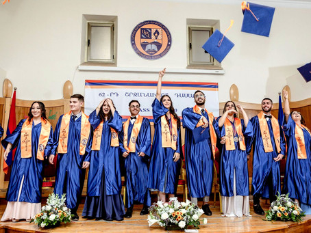 Երուսաղեմի Ս. Թարգմանչաց Վարժարանի 2019-2020 Ուսումնական Տարվա Ավարտական Հանդես