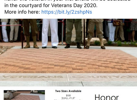Memorial Day Commemorative Bricks