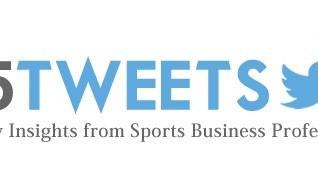 #5Tweets: Marie Donoghue, Amazon's VP of Global Sports Video