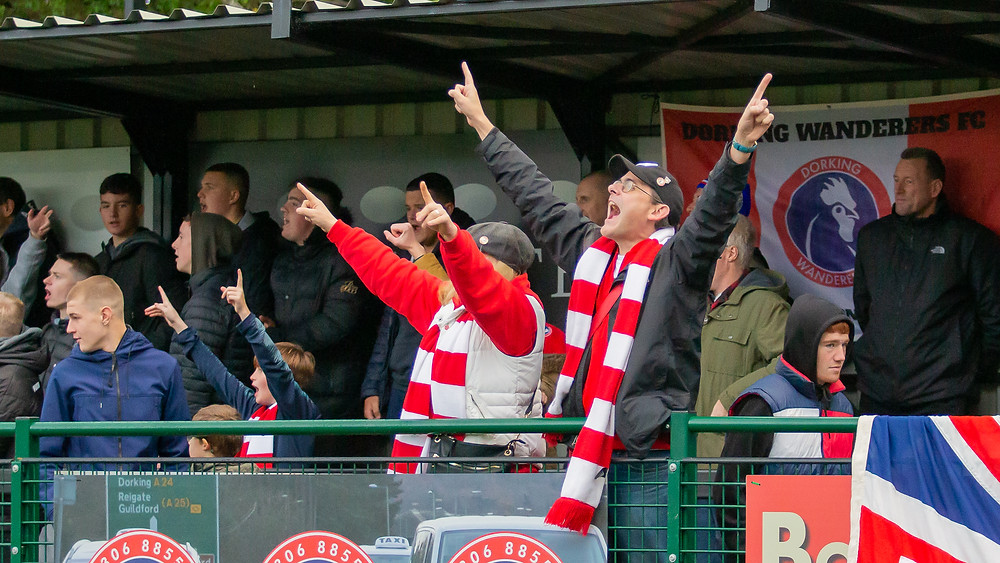 Dorking Wanderers fans