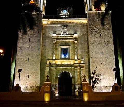 Las Iglesias en Yucatán.