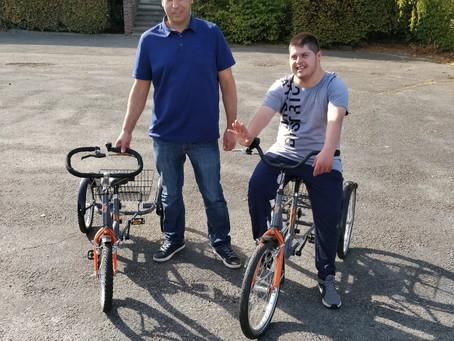 Meer fietsplezier dankzij familie Wassim!