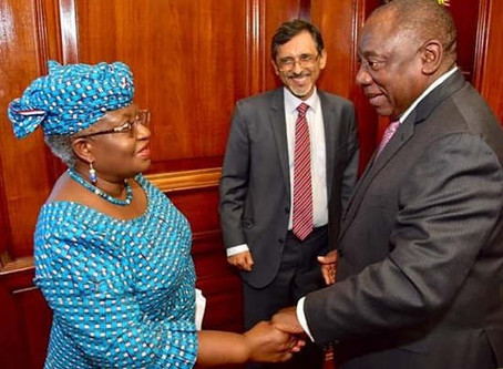 South Africa Appoints Nigeria's Okonjo-Iweala Member, Economic Advisory Council