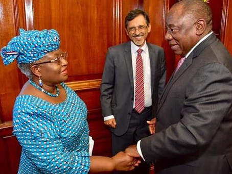 South Africa Appoints Nigeria's Okonjo-Iweala Member, Economic Advisory Council