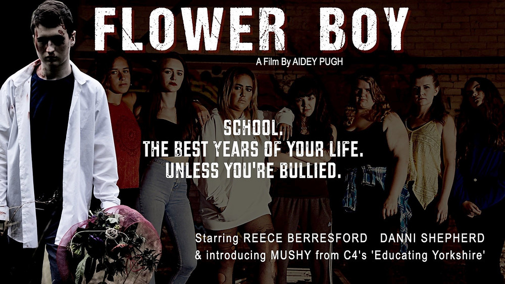 Poster for Flower Boy showing the protagonists.