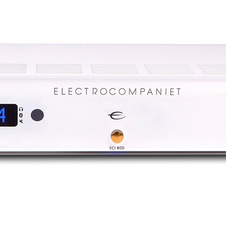 """Electrocompaniet ECI80D """"drives hard and loud without complaint""""—see Stereonet's review!"""