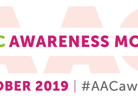 October is International AAC Awareness Month