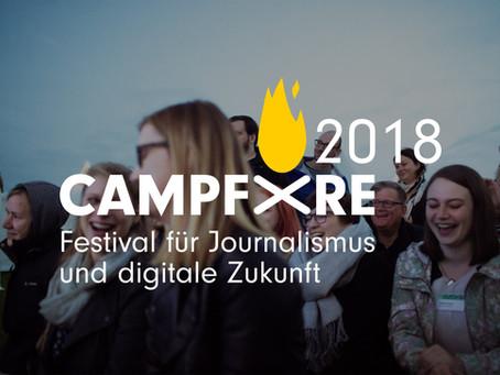 Wir stellen WelectPublish auf dem Campfire Festival vor