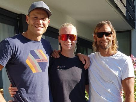 Olympiasieger, Weltmeister & Deutscher Meister Max Hoff zu Gast am Heubethof bei Robby Lange