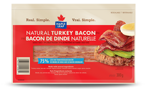 Maple Leaf brand Natural Turkey Bacon
