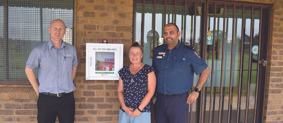 ANOTHER AED PUBLICLY AVAILABLE..