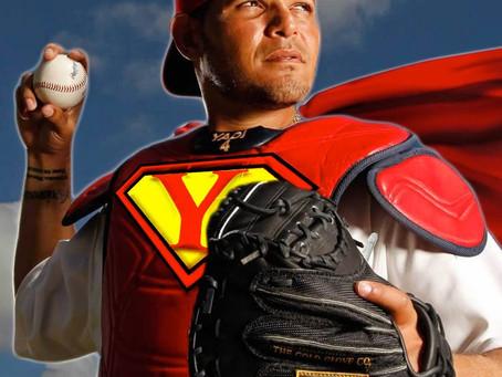 Yadier Molina is a superhero by Lauryn Merseal