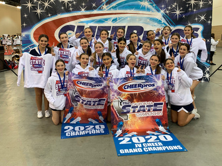 State & Grand Champions - JV Competition Team