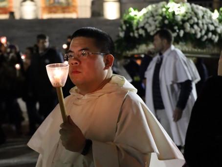 Fr Lawrence Lew OP recalls his fondest St Albert's memory