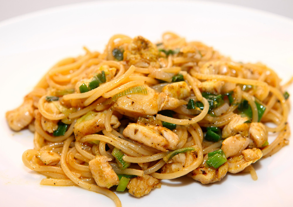 Lactose-Free Creamy Thai Peanut Butter Noodle