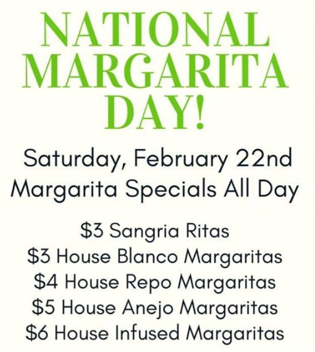 National Margarita Day Specials Frisco Texas