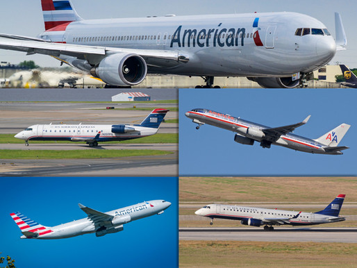 American Airlines # farewell to five fantastic Aircrafts