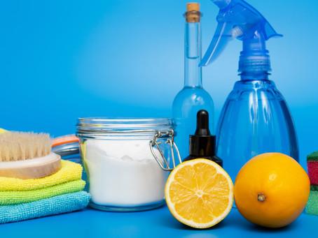5 Ingredientes de cocina que también puedes utilizar para limpiar