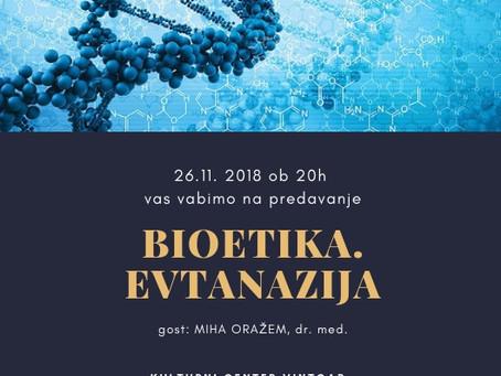 Kulturni večer: Bioetika