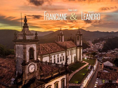 Franciane e Leandro