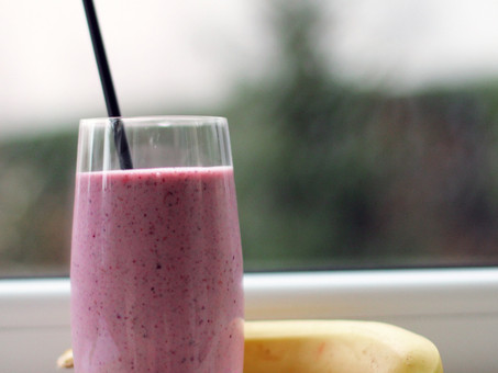 My all time favourite SMOOTHIE! And it's vegan!