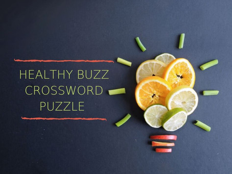 Healthy Buzz Crossword Puzzle with The Jar - Healthy Vending