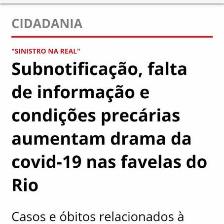 CORONAVÍRUS | O drama da subnotificação COVID-19 nas favelas do Rio de Janeiro