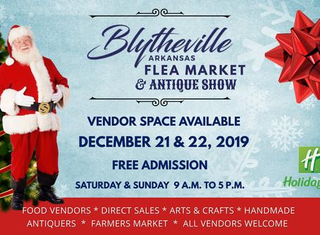 Christmas Blytheville Flea Market Vendor Info