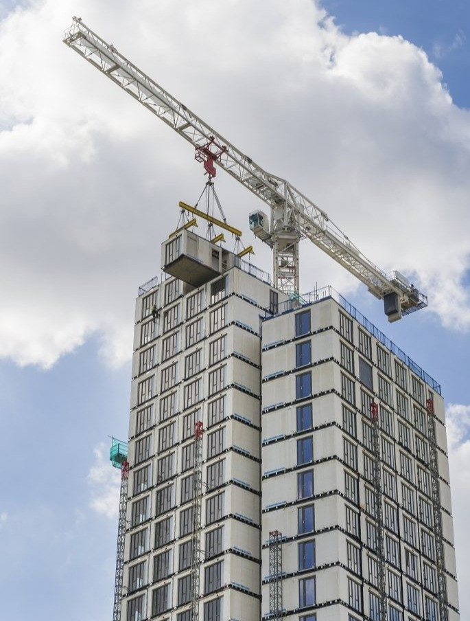 Blocul turn Mapleton Crescent din Wandsworh Londra