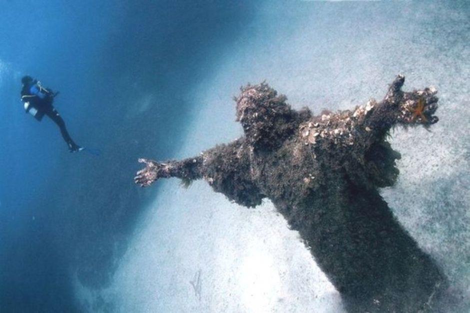 plongée Cristo degli abissi réserve marine de Portofino