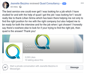 Let us help you with your job hunt