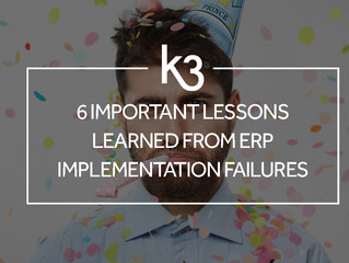 6 Important Lessons Learned From ERP Implementation Failures
