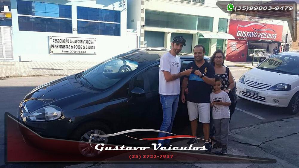 Marcelo, Elaine e seu filho