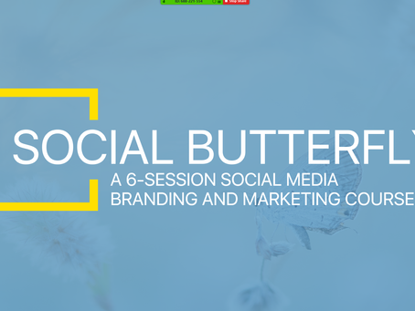 Ready to be a Social Butterfly?