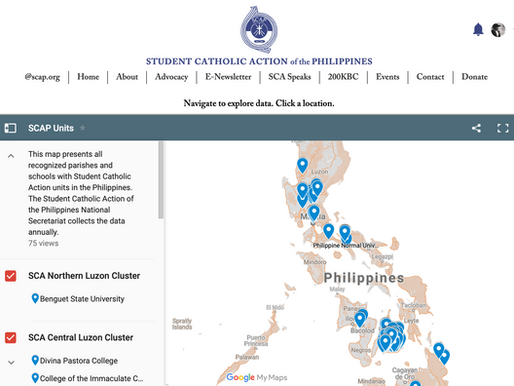 List of recognized SCA units nationwide now geotagged, publicly available