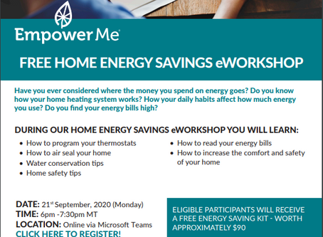 Empower me workshops info. and posters with sign-in links sept 26