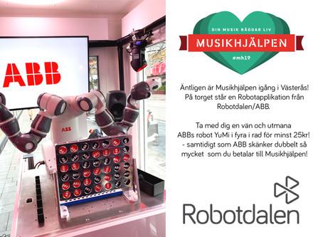 Robotdalen ❤ Musikhjälpen