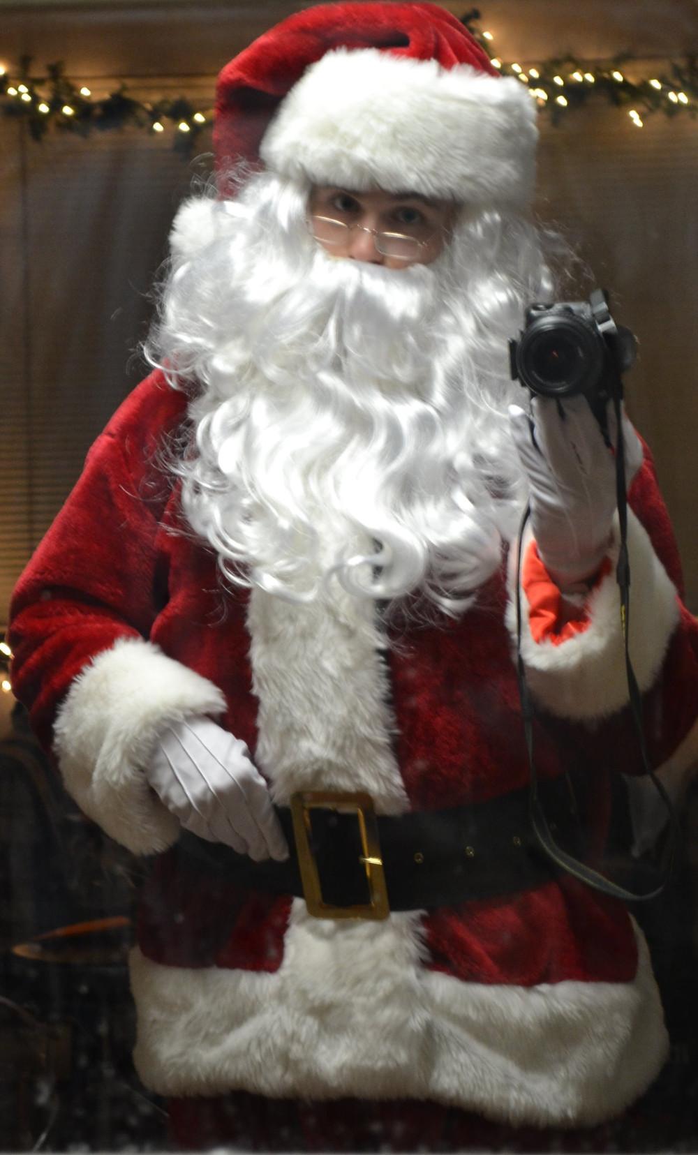 Horrid looking Santa Claus