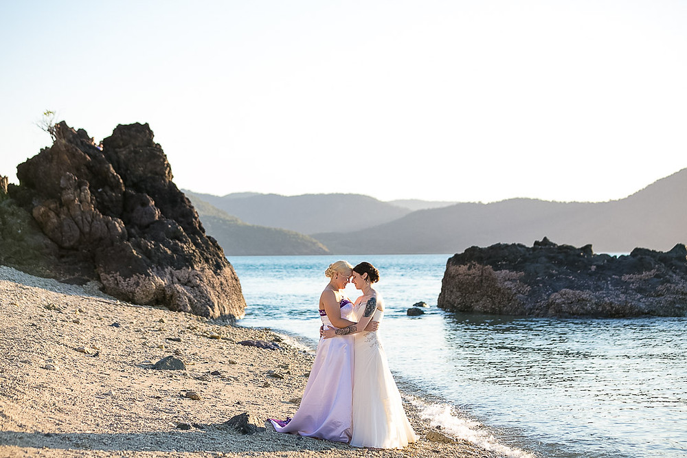 I was truly honoured and privileged to be chosen to be Porcia and Chelsea's photographer for their Daydream Island, Whitsunday Wedding.