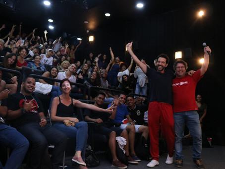 """Cinema lotado com """"Fevereiros"""" de Marcio Debellian no Diálogos com o Cinema do Ponto Cine"""