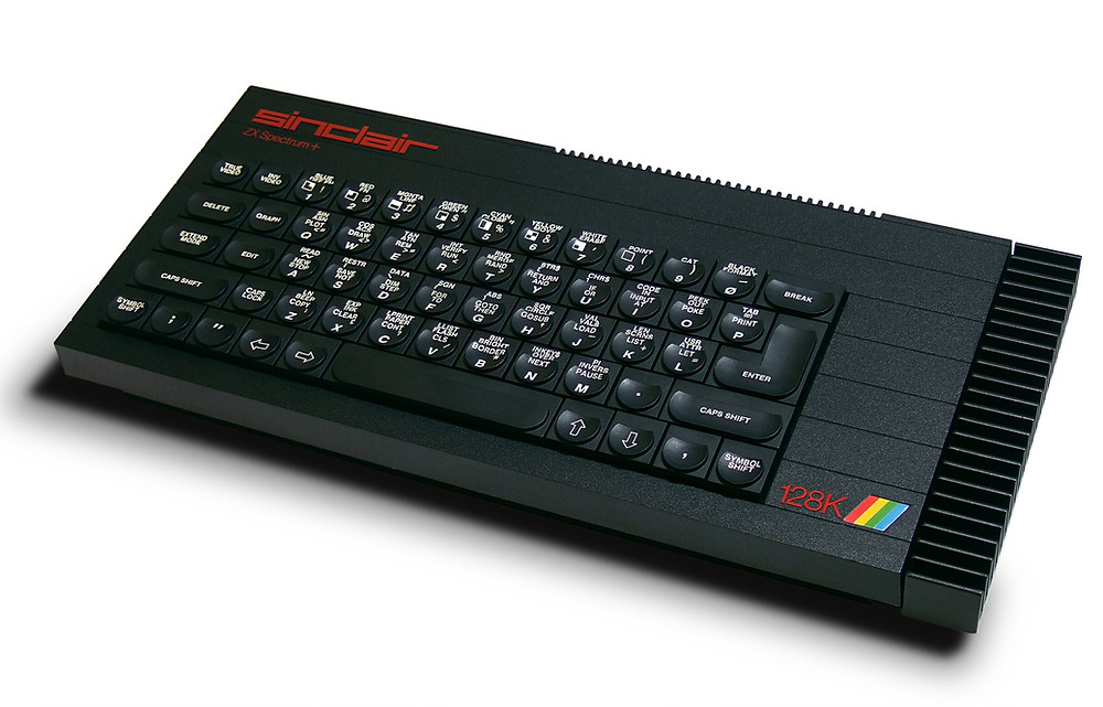 The more advanced Sinclair ZX Spectrum + 128K