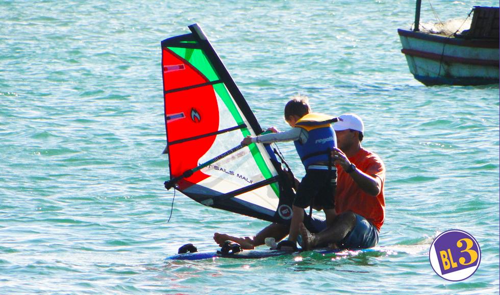 Aulas de Windsurf para crianças e adultos na BL3 Escola de Iatismo Ilhabela
