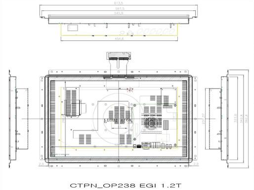 OTPN238 24형 정전터치 일체형 판넬PC J1900_1920x1080_250Cd