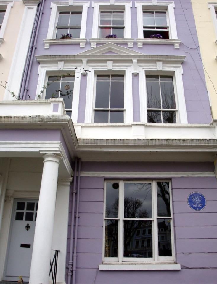 Sylvia Plath home