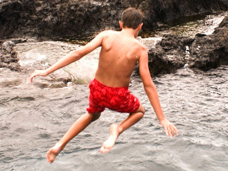 Wild Swimming and Tombstoning