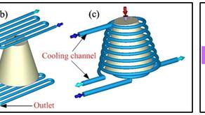 Moldex3D 형상 적응형 냉각 채널 최적화, 냉각 효율 70% 향상