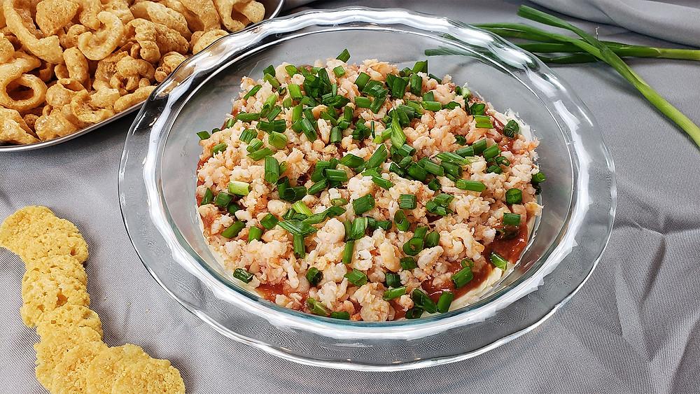 Keto Layered Shrimp Dip Recipe
