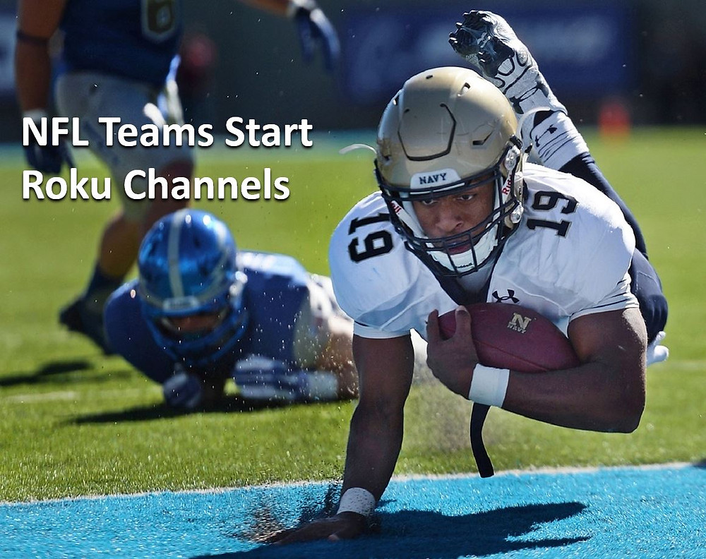 NFL Teams Have Roku Channels