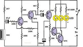 L24, Simple Clap Switch Circuit