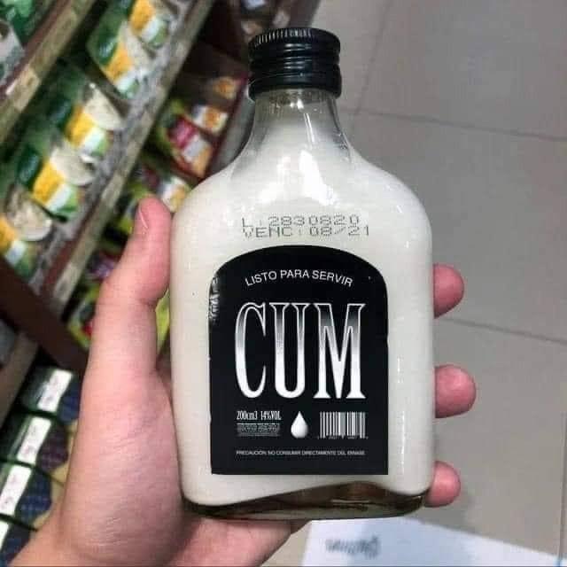 Cum Sold in a Bottle Meme
